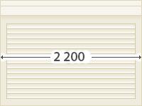 Рольставни 2200*1500  10 000 руб.